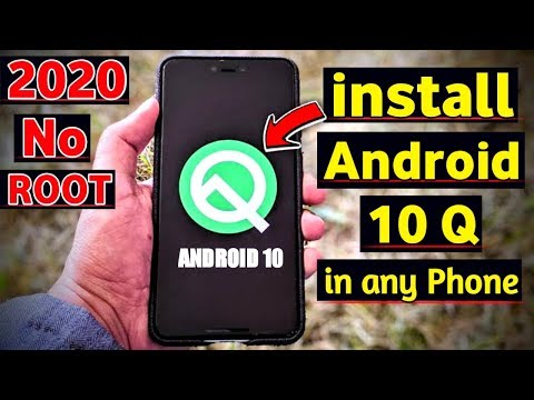 How To Upgrade Any Android Device To 10 Q Android 2020 |  Without PC WITHOUT ROOT |
