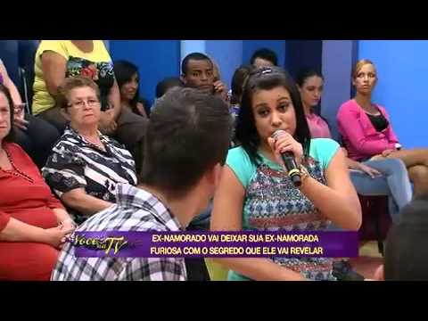 Ex Grava Vídeo íntimo E Publica Na Internet - Você Na TV 02/04/2014