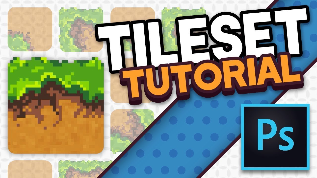 tileset in photoshop tutorial youtube