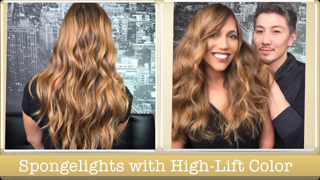 Spongelights With High Lift Colors Youtube