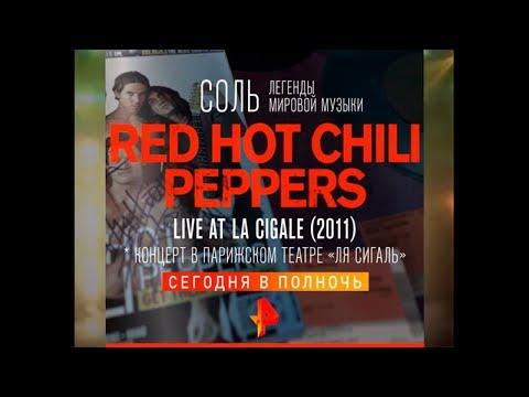 Легендарный концерт Red Hot Chili Peppers/СОЛЬ/00:00/Сегодня!