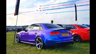 Modified 486BHP Audi S4 Widebody | Colour shift / flip liquid wrap | Driving Passion | Akrapovic