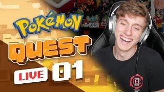 NEW POKEMON GAME! | Pokemon Quest Part 1