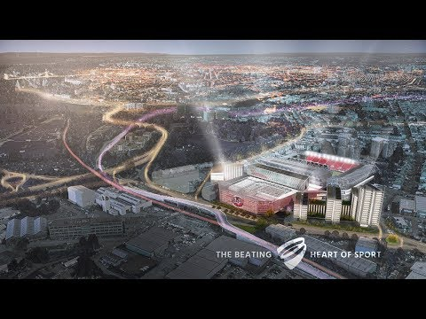 Ashton Gate reveals £100m expansion