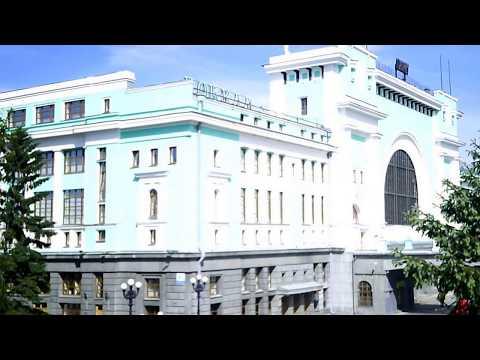 Видео. Вокзал Новосибирск-Главный и привокзальная площадь.