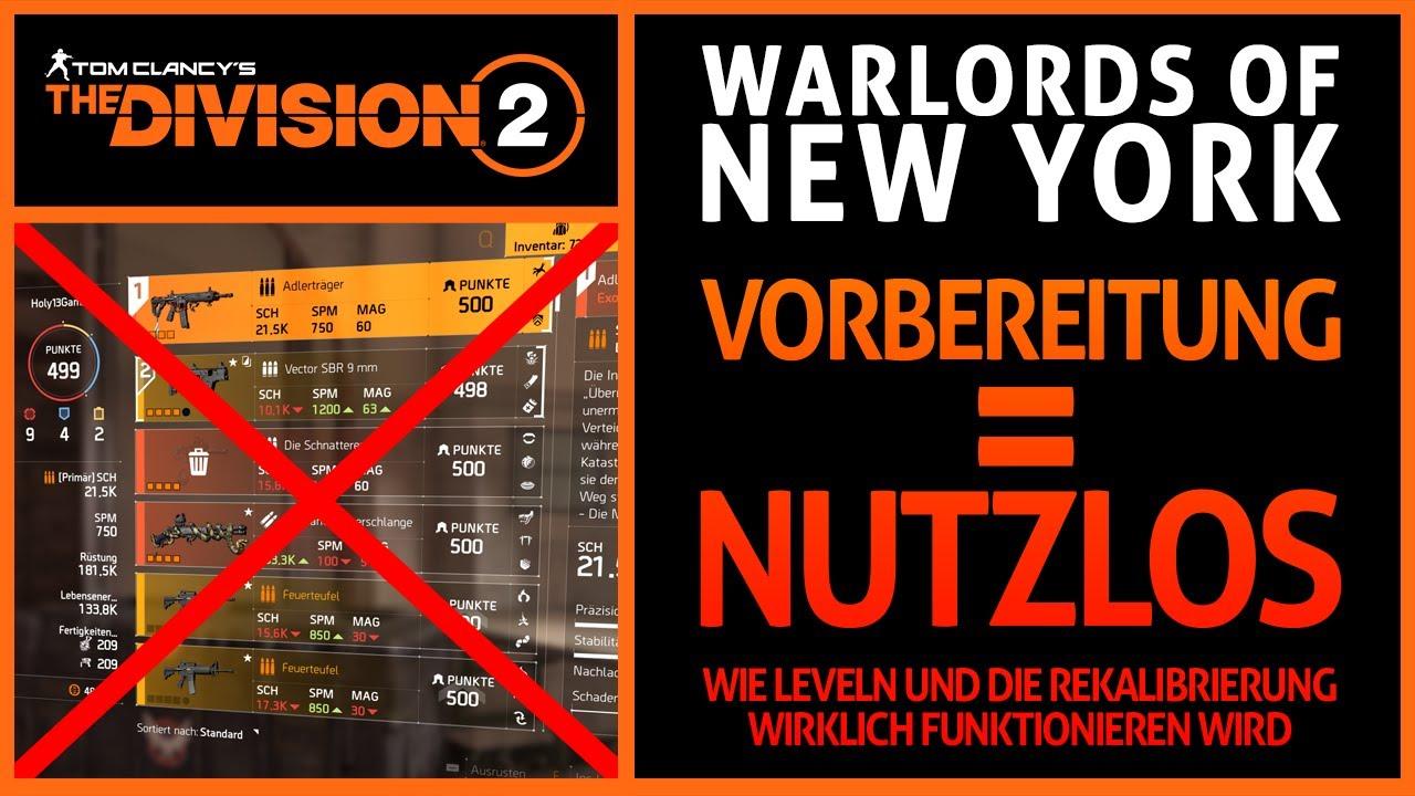 The Division 2 ▶️ VORBEREITUNG auf Warlords Of New York ist NUTZLOS! Warum das HORTEN NICHTS BRINGT!