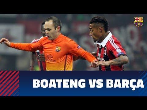 Kevin-Prince Boateng's goals versus FC Barcelona