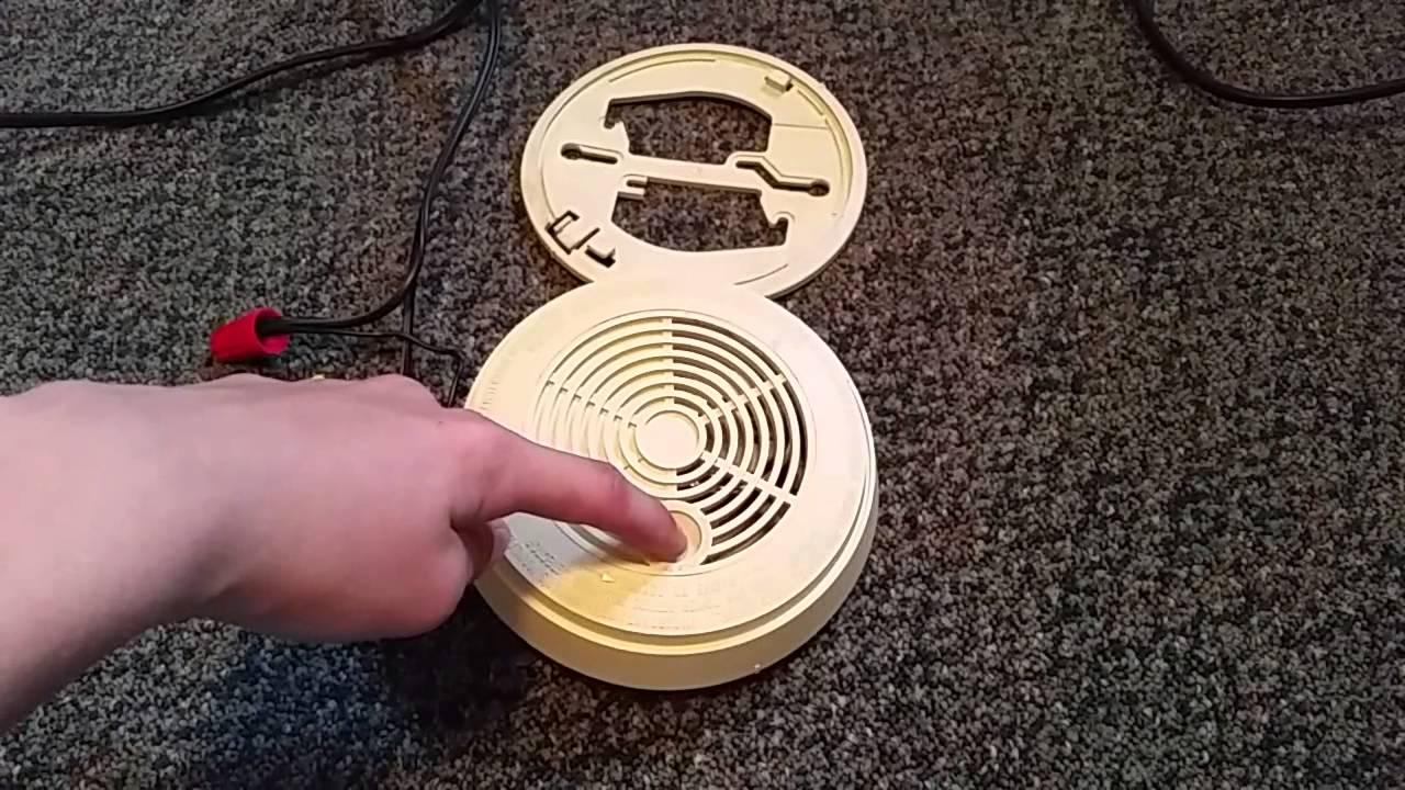 BRK 1839ACI Smoke Detector Demo