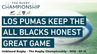 Rugby Championship 2018: Los Pumas Keep the All Blacks Honest, Great Game
