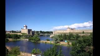 Замок Нарва. Эстония(Нарвский замок (замок Германа) был основан в конце XIII века датчанами, завоевавшими Северную Эстонию. Крепос..., 2014-08-28T21:22:10.000Z)
