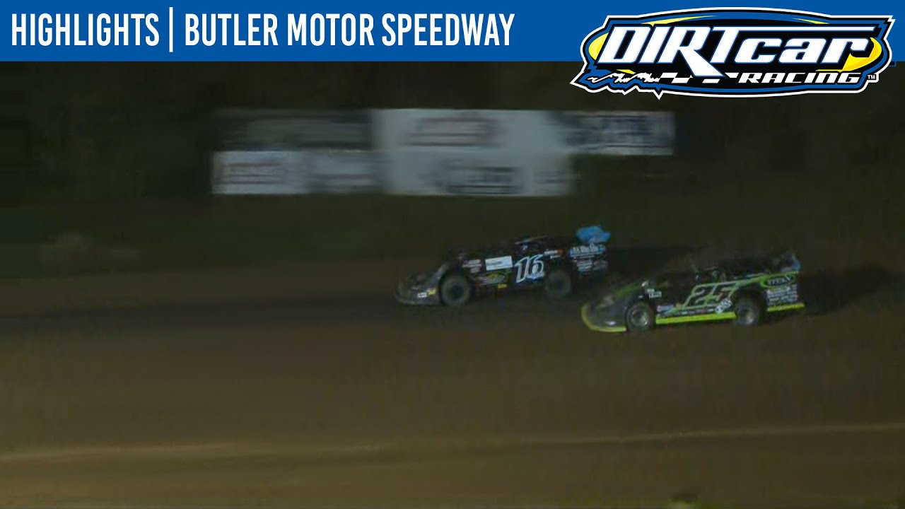 DIRTcar Summer Nationals Late Models Butler Motor Speedway August 19, 2020 | HIGHLIGHTS