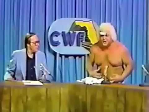 NWA Wrestling CWF Florida Flashback .. Now This Is Wrestling