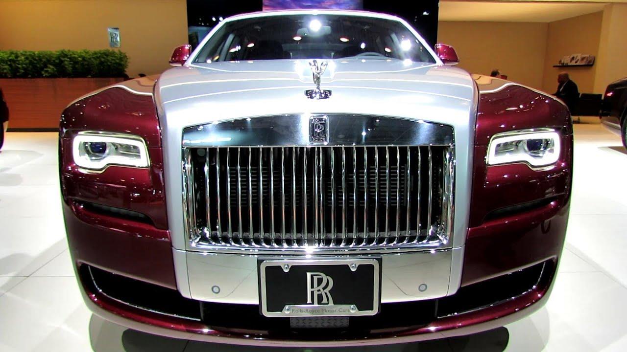2015 rolls royce ghost series ii exterior and interior walkaround 2014 new york auto show. Black Bedroom Furniture Sets. Home Design Ideas