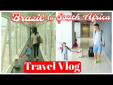 Travel Vlog: Brazil to South Africa!