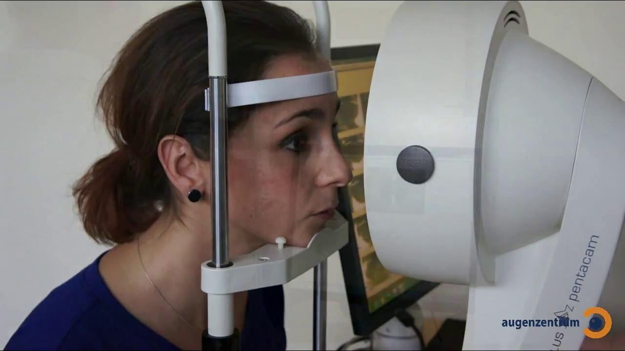 Pentacam Hornhaut-Untersuchung - Augenzentrum in München