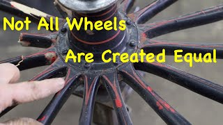 100 Year Old Buggy Wheel Built Incorrectly | Engels Coach Shop