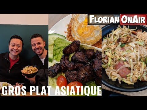 Ce RESTO ASIATIQUE FUSION Blinde Les Assiettes! -  VLOG #758