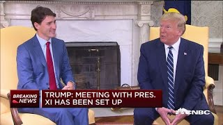 president-trump-a-meeting-with-chinese-president-xi-has-been-set-up