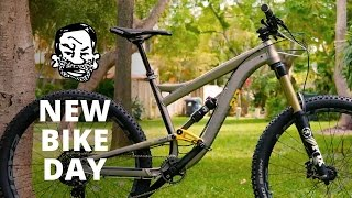 New Bike Day - Squish!