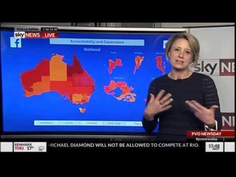 Kristina Keneally uses the magic wall, PVO mocks the whole thing - Sky News