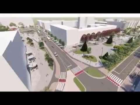 Журналист Житомира: Майдан Соборний у Житомирі хочуть зробити пішохідним. 3D-візуалізація