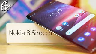 Nokia 8 Sirocco - Unboxing & Overview (w/ Benchmarks)