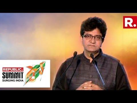 The Idea Of United India - Prasoon Joshi At Republic Summit 2018