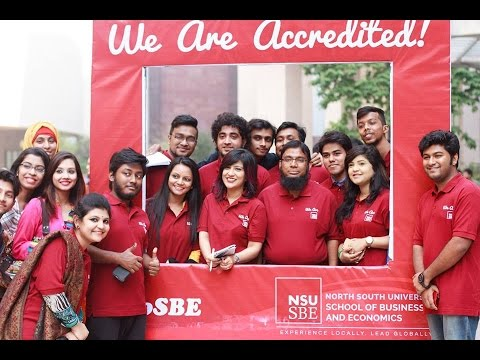 We Are NSU SBE, We Are ACBSP Accredited