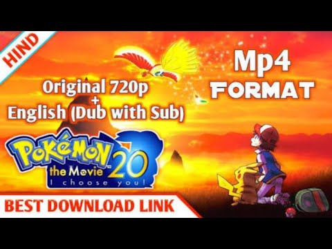 How To Download Pokemon The Movie I Choose You Hindi Dubbed 100