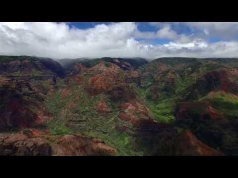 Waimea Canyon Drone Footage in 4K