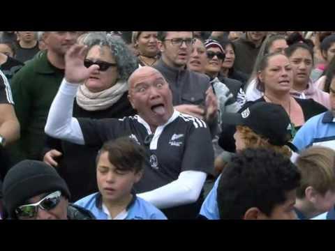 News Update New Zealanders attempt world's largest haka in Rotorua 17/06/17