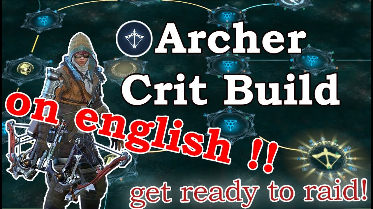 Skyforge - Archer Crit Build / Guide [ on English !]