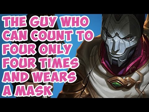 THE GUY WHO CAN COUNT TO FOUR ONLY FOUR TIMES AND WEARS A MASK