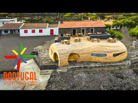 Cella bar - Zona balnear da Barca - Madalena - Pico - Azores - 4K UltraHD