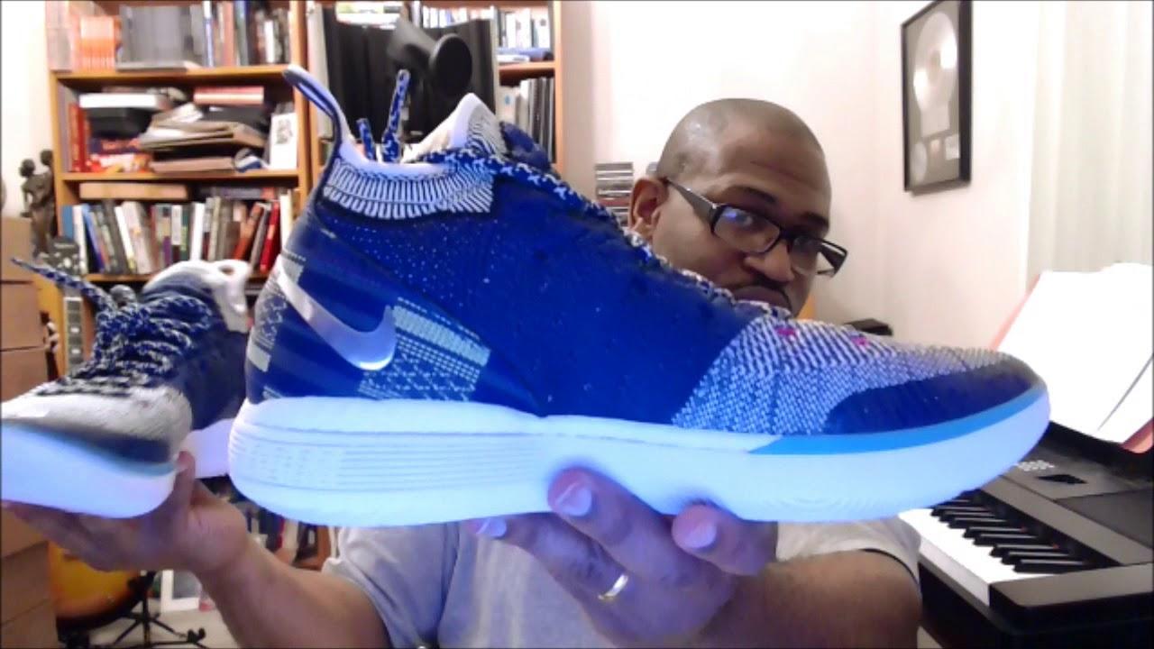 equivocado Elocuente cuota de matrícula  Nike Zoom KD11 BHM Blue Void/Black-Squadron Blue BQ6245-400 - YouTube