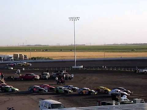 Red River Valley Speedway-Chamionship Night-Wissota Street Stock Feature