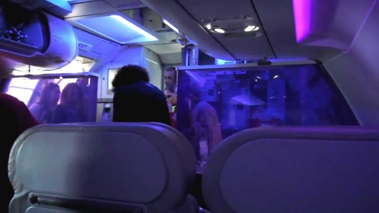 Awesome Virgin America Airbus A320 N621VA Boarding And Cabin View At LAX.MOV    YouTube