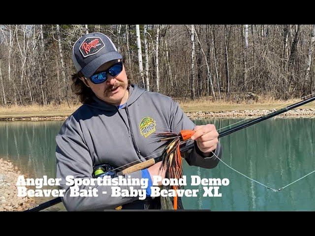 Beaver Bait's  Baby Beaver XL Musky Bait Demo - Angler Sportfishing
