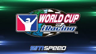 World Cup of iRacing   Oval #7   Canada vs Northwest