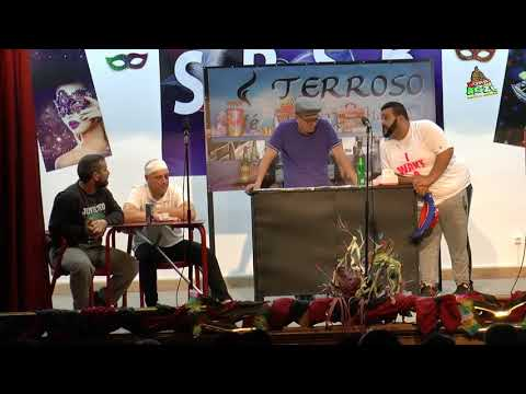 Comedia dos Amigos do Cafe TERROSO Conversas de cafe 02Mar2019