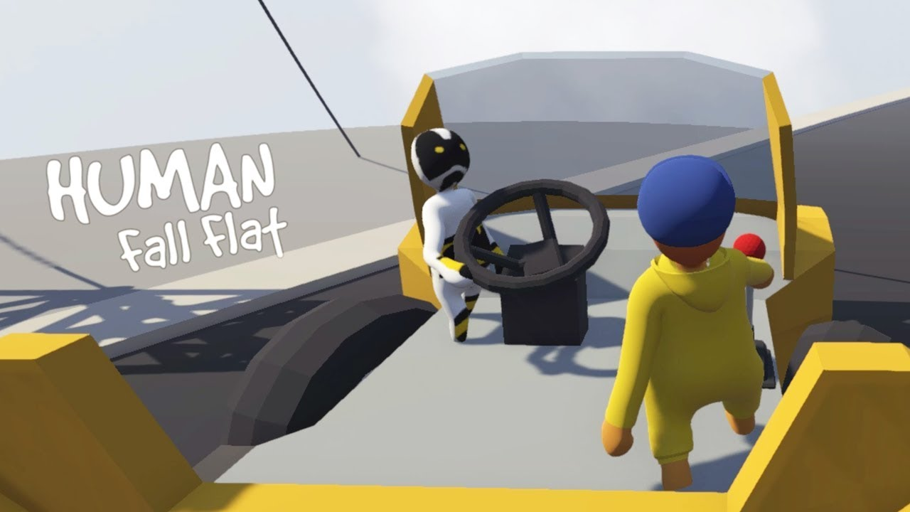 DOWN IN THE DUMPS - Human Fall Flat Gameplay - YouTube