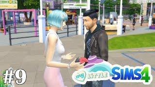 Извинительный поход на блошиный рынок - My Little Sims (Город) - #9