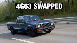 4g63 Mitsubishi mightymax turbo Dodge Ram 50