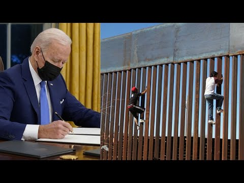 Biden Immigration Policies Invite More Illegal Immigration, Undocumented FLOODING US-Mexico Border