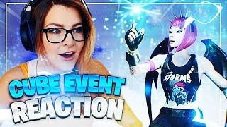 THE NEW *CUBE EVENT* GAVE ME CHILLS! My Reaction + Replay Mode (Fortnite: Battle Royale)