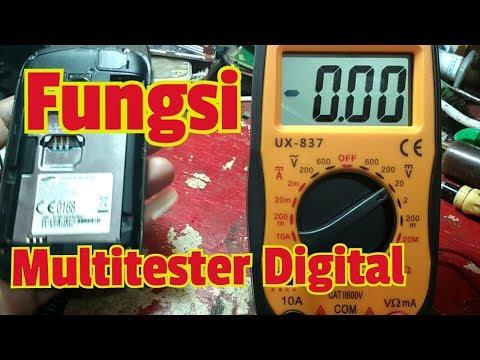 Fungsi Multitester Digital