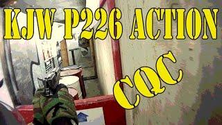 Airsoft CQB KJWorks P226 Action