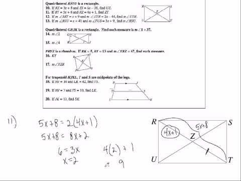 Honors Geometry Chapter 6