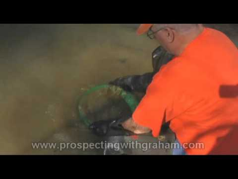 Prospecting with Graham: bottom clay