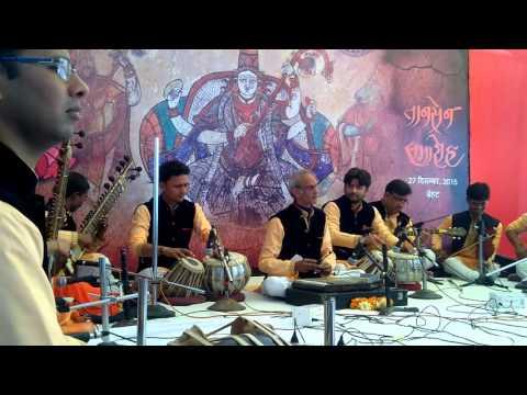 Tansen samahro kalashri vadhyvrand 27.12.2015